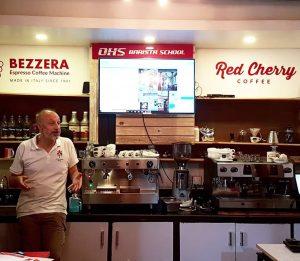 Espresso Academy in Nepal