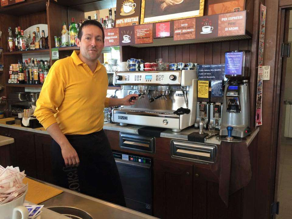 A day in the life of an Italian barista, interview with Simone Celli