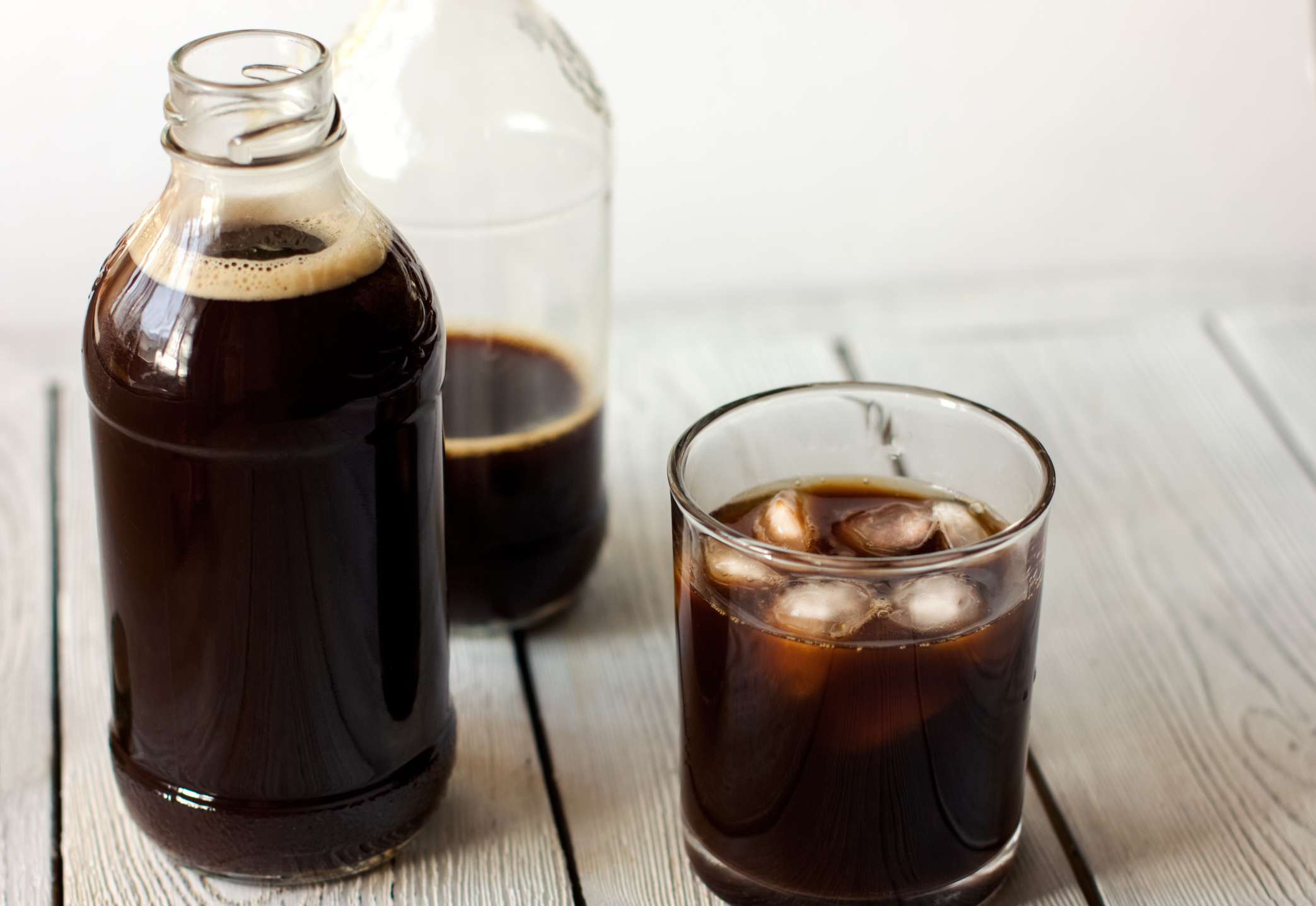 The difference between cold brew and iced coffee