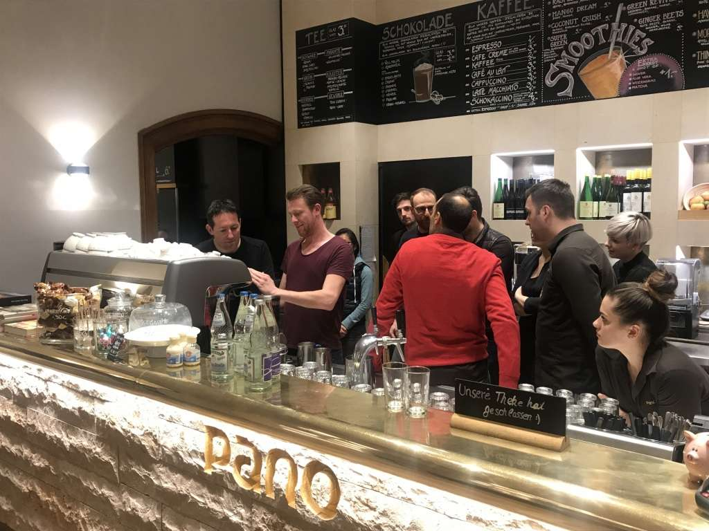 Training of the Espresso Academy in Germany